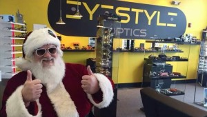 santa sunglasses