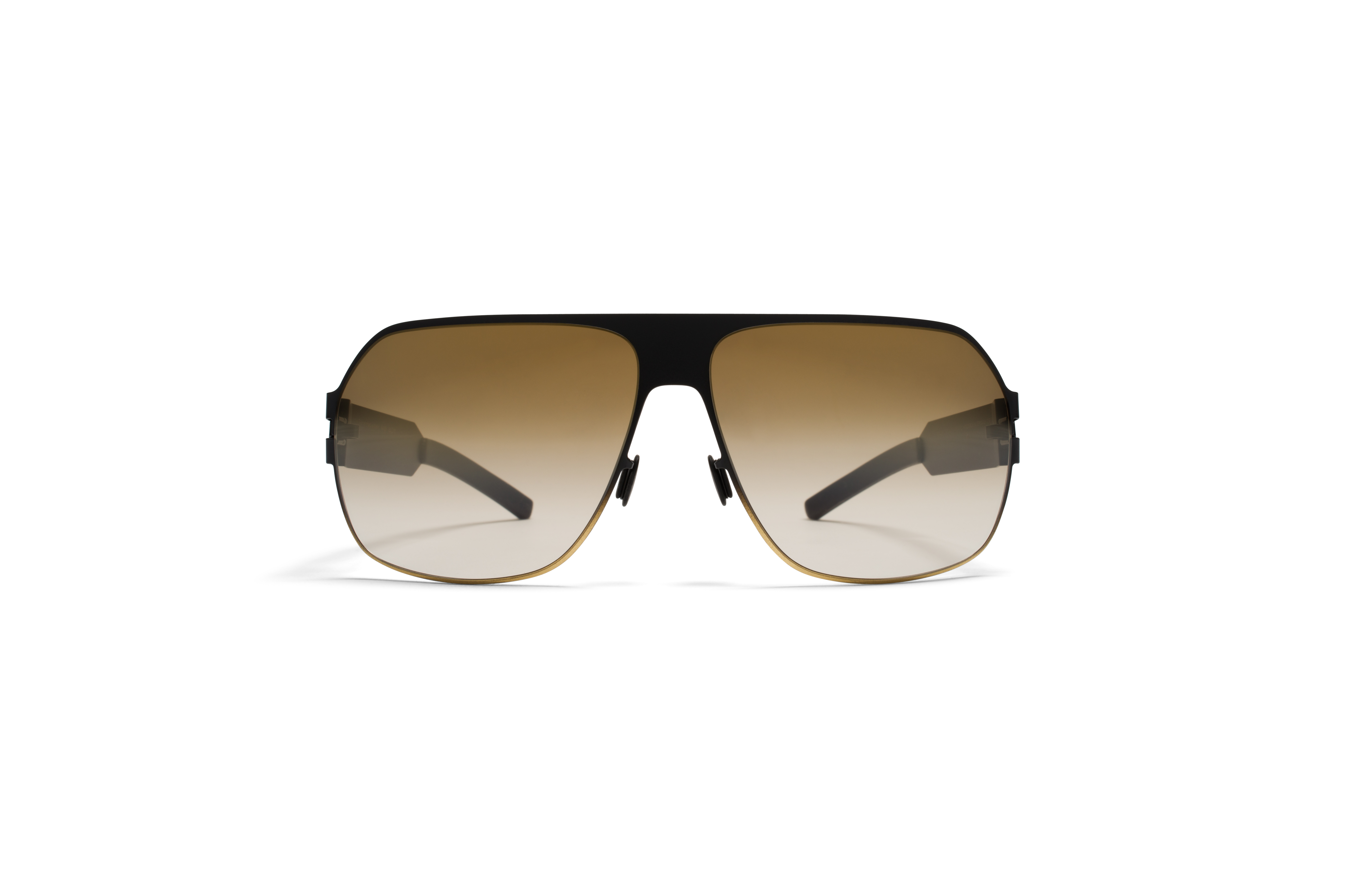 Mykita Bw Sun Xaver F67 Black Gold Brown Gradient56fbf7285dea1