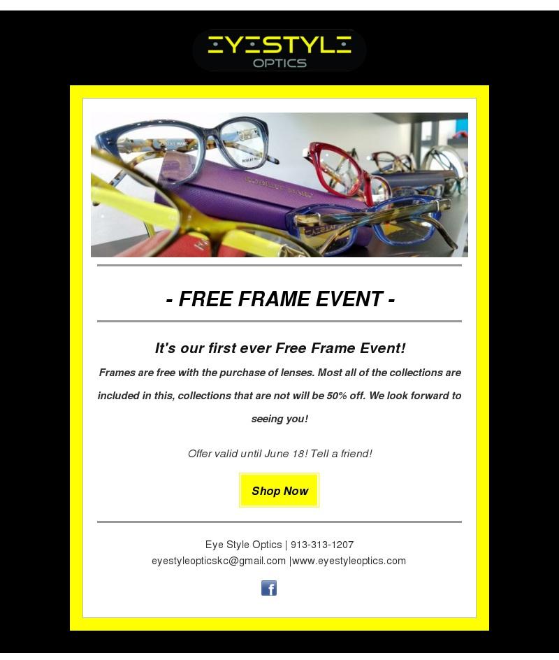 designer frames and eyewear » Eye Style Optics